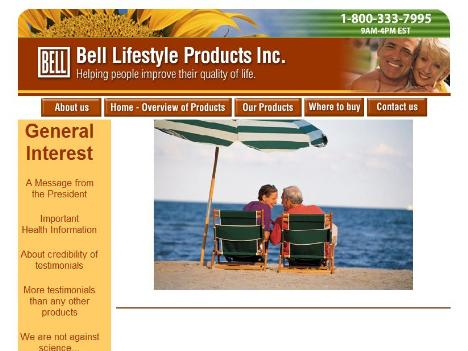 Bell lifestyle products inc